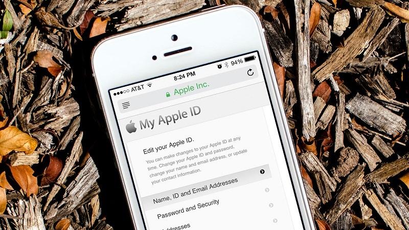 quên mật khẩu apple id
