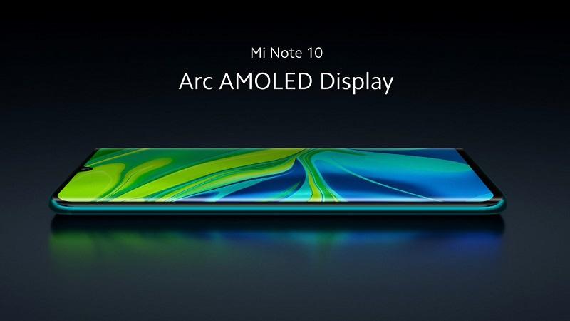 Xiaomi Mi Note 10 ra mắt