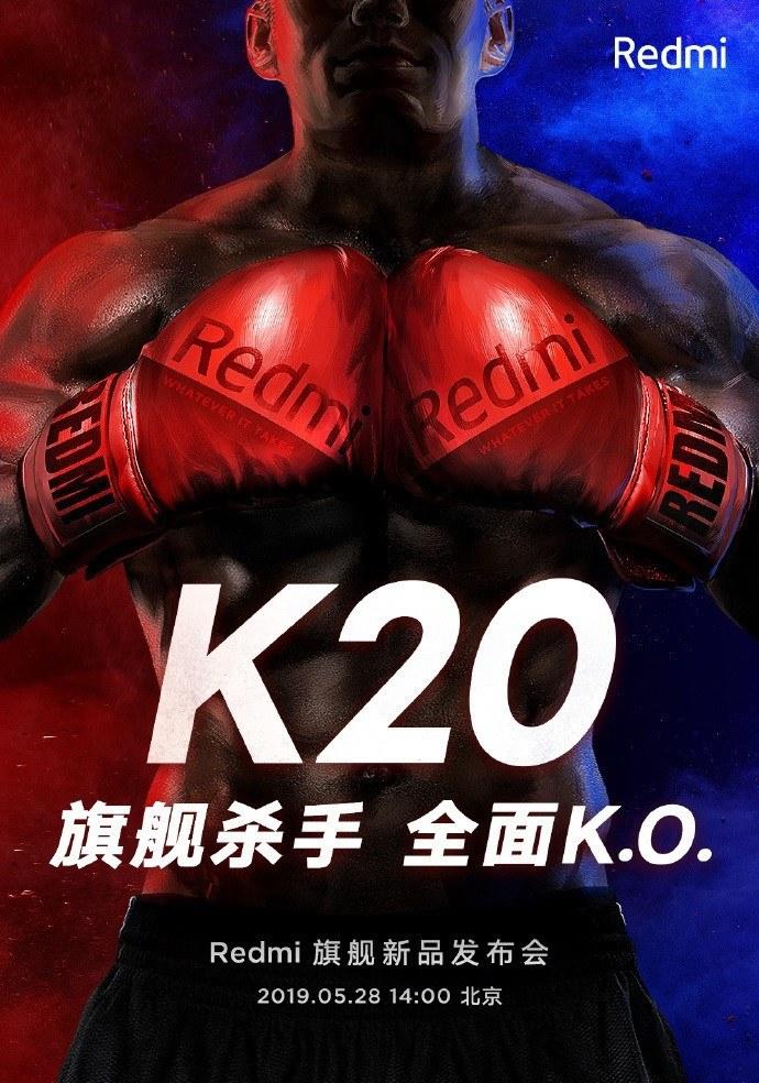 redmi k20 sắp ra mắt poster