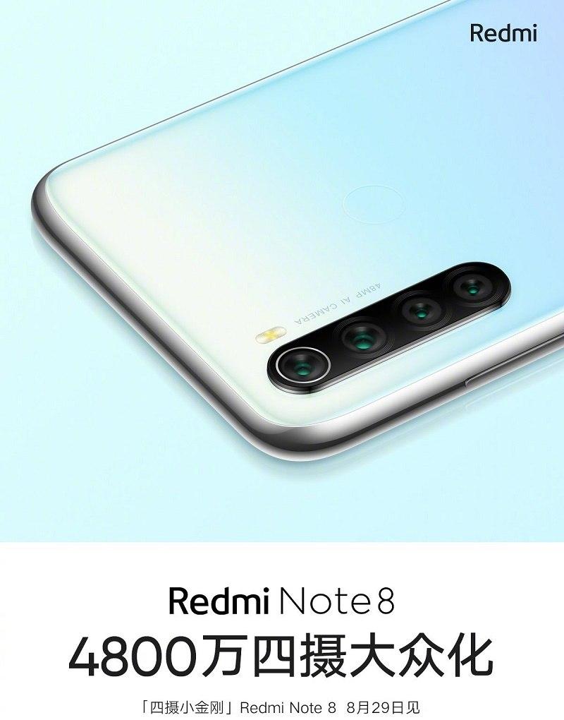 redmi note 8 lộ ảnh chính thức