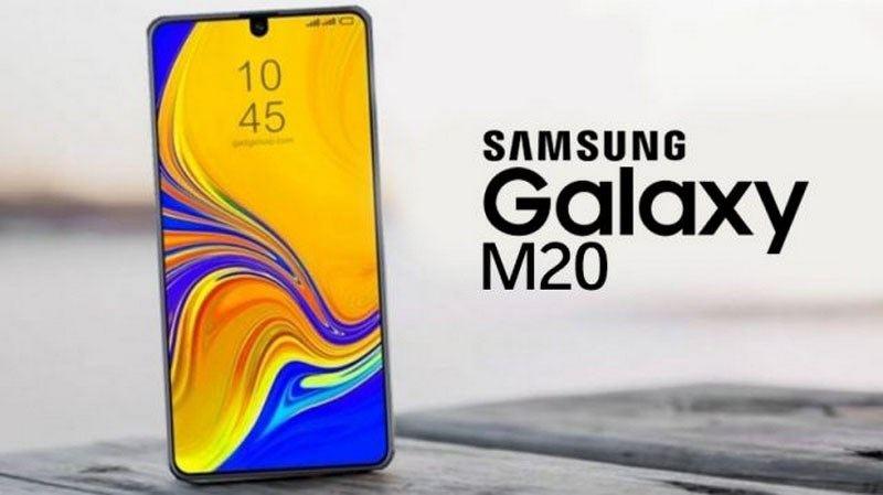 samsung galaxy m20 mới