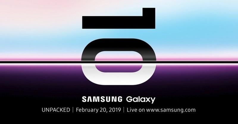 samsung galaxy s10 chính thức ra mắt