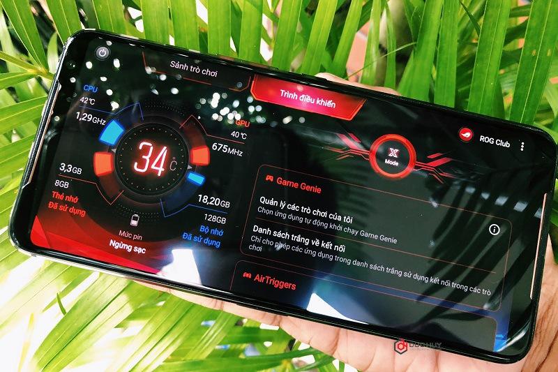 smartphone chuyên chơi game rog phone 2 cấu hình