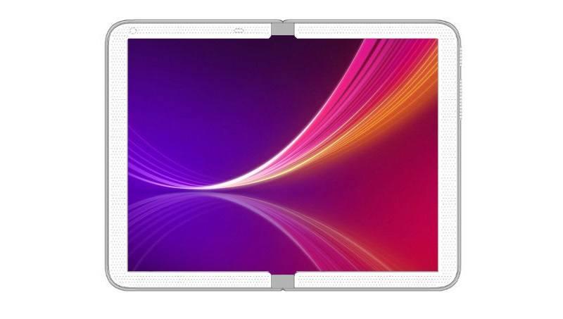 Smartphone có màn hình gập của LG