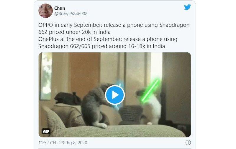 smartphone oneplus giá rẻ lộ thông tin