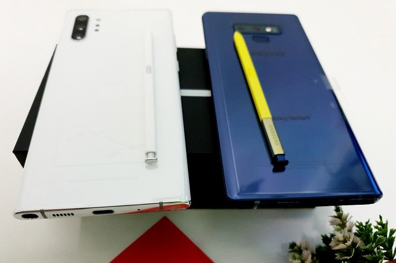 so sanh note 9, note 10 tổng thể