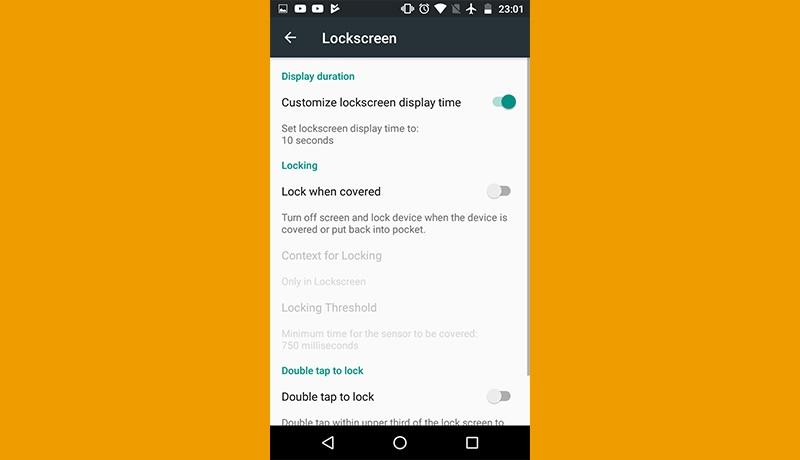 thông báo smartphone android lockscreen