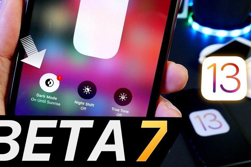 tính năng mới ios 13 beta 7