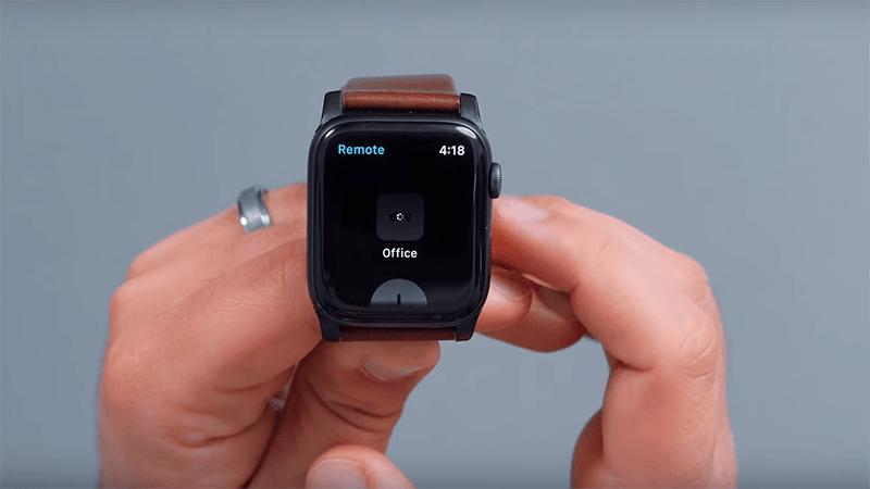 sử dụng apple watch làm điều khiển appe tv