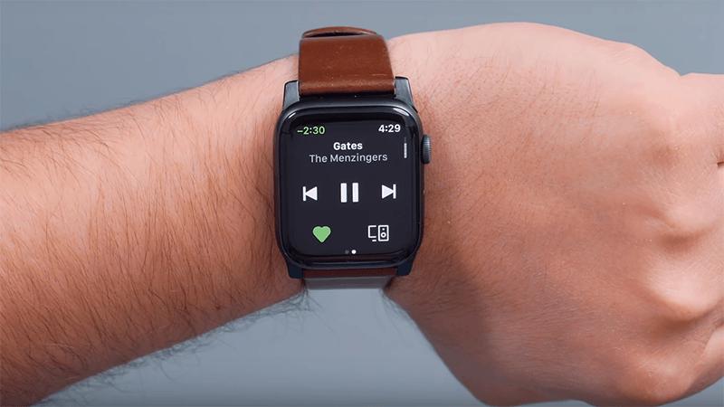 tắt âm thanh trên apple watch