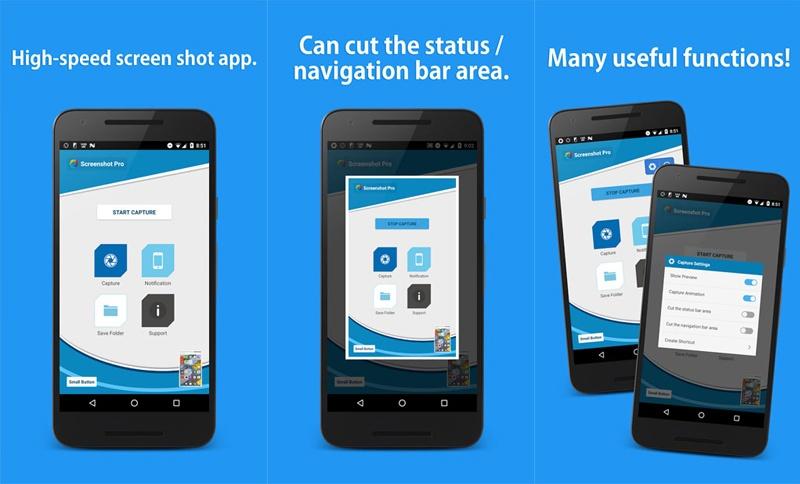 ứng dụng trên play store screenshot pro