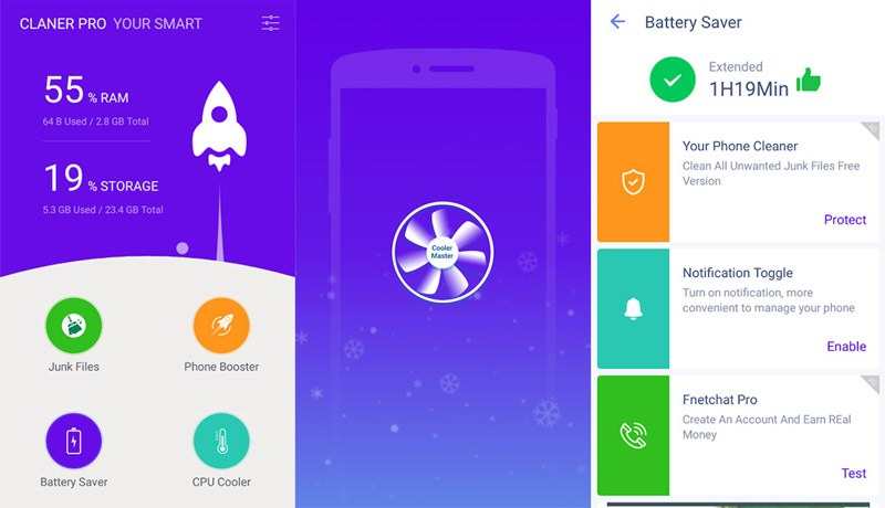 ứng dụng trên play store your smart cleaner pro