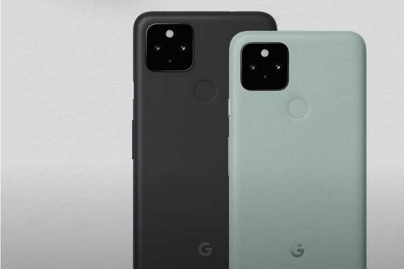 google pixel 5 thiết kế