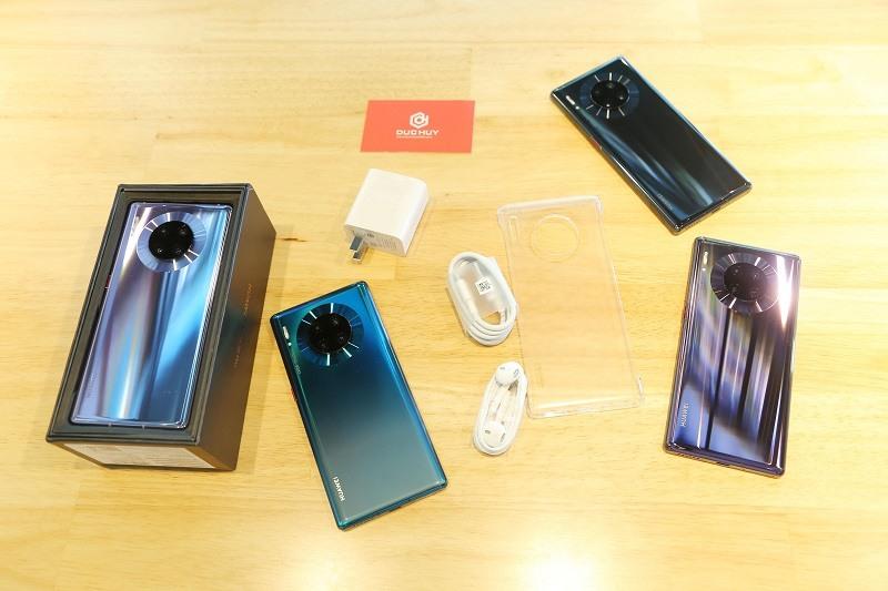 đập hộp Huawei Mate 30 Pro