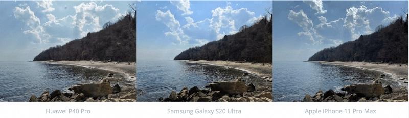 chụp ảnh bãi biển