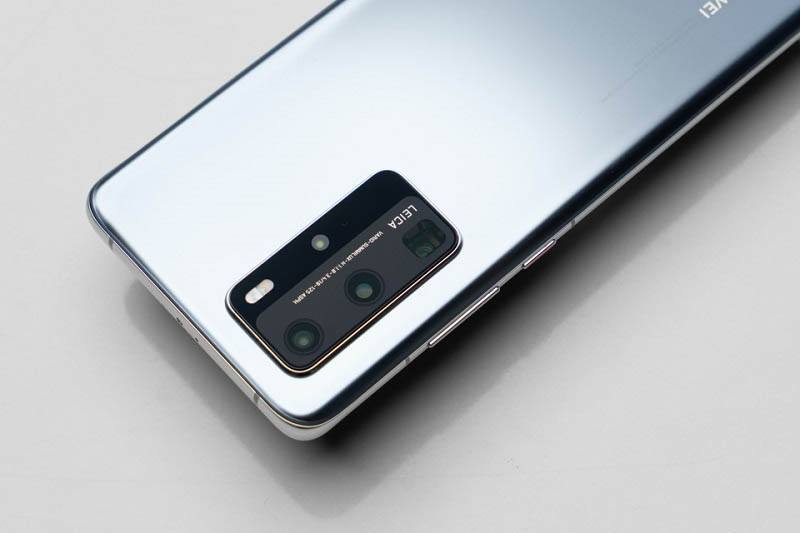 Huawei P40 Pro camera sau
