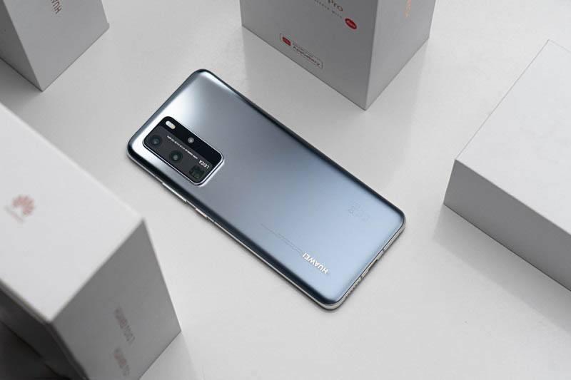 Huawei P40 Pro mặt lưng