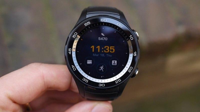 đánh giá huawei watch 2 thiết kế