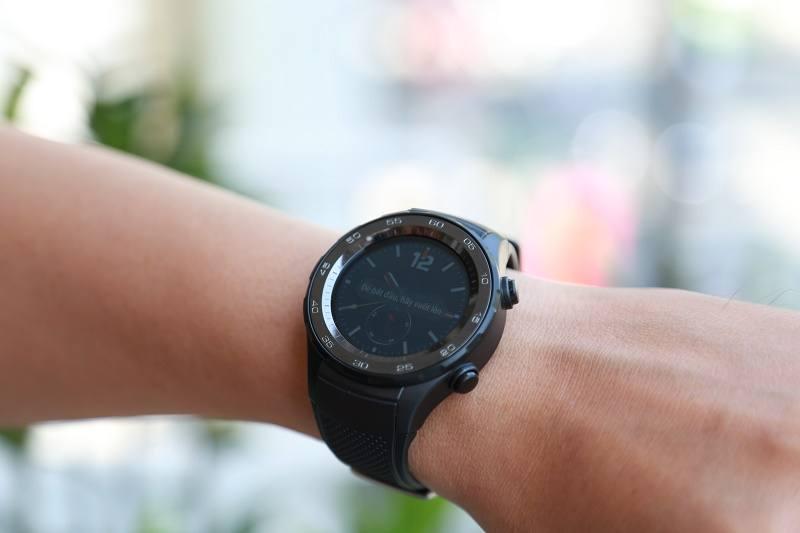 đồng hồ thông minh huawei watch 2 đeo tay