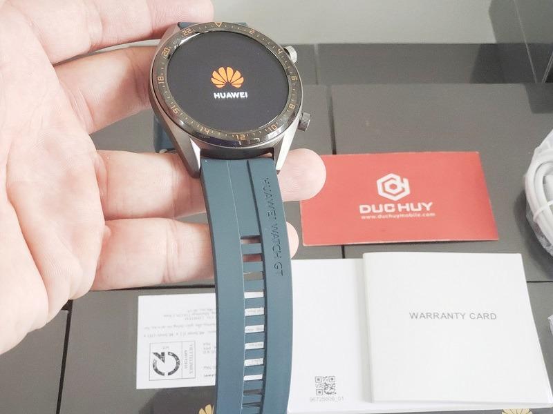 đánh giá đồng hồ huawei watch gt thiết kế