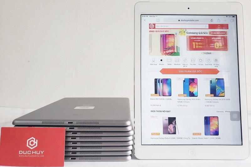 ipad air đánh giá màn hình