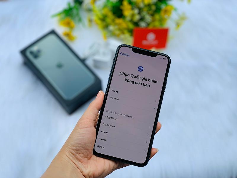 iphone 11 pro max màn hình