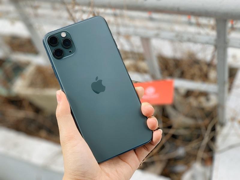 iPhone 11 Pro Max thiết kế đẹp mắt
