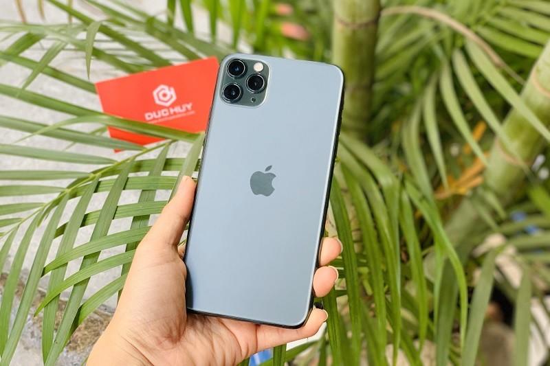 mua iphone 11 pro max thiết kế