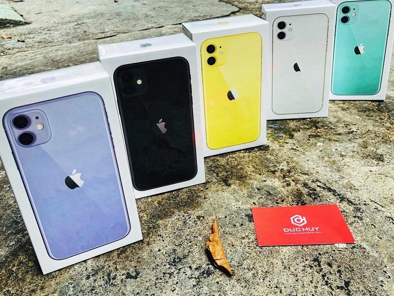 mua iphone 11 tại đức huy mobile máy