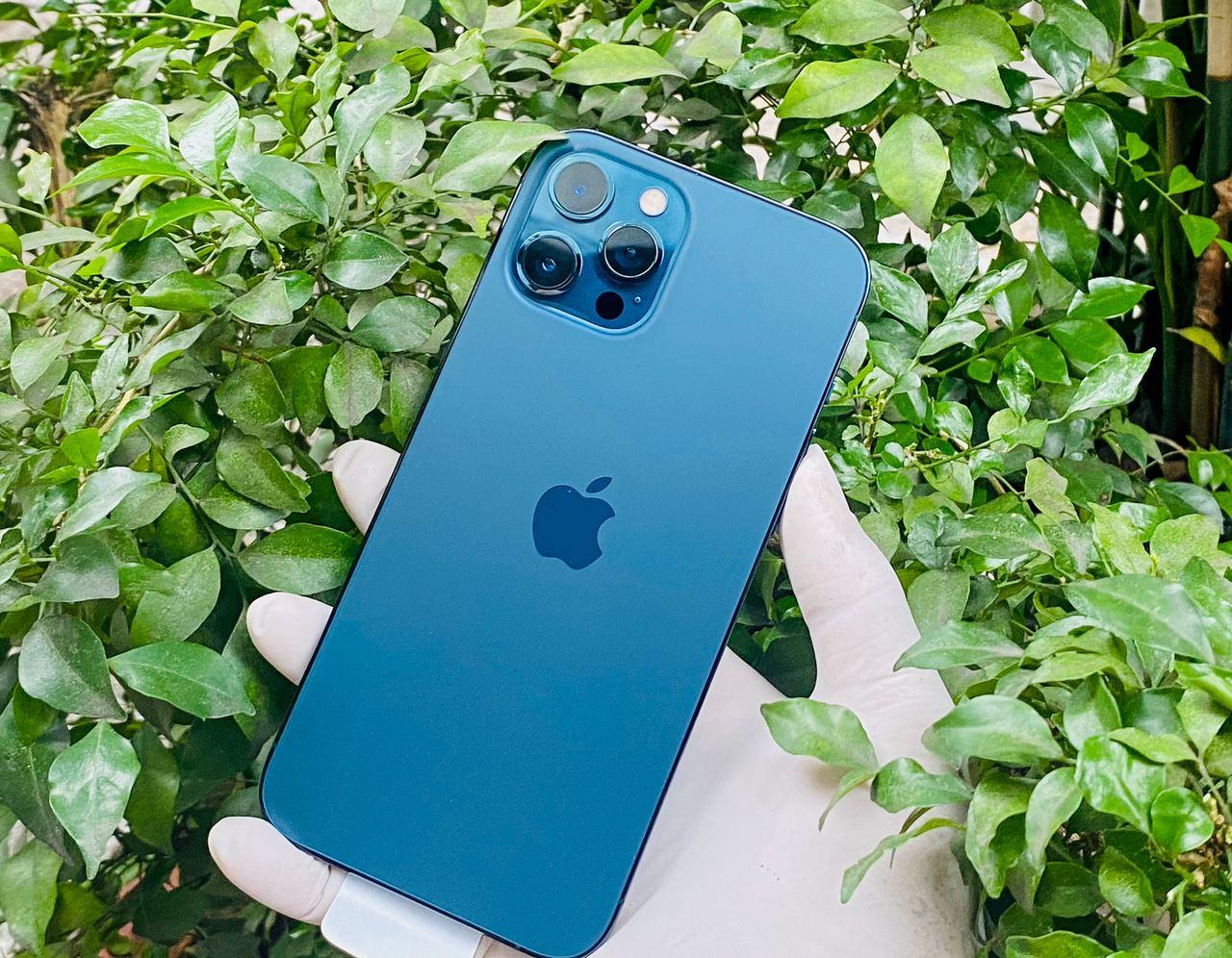 trên tay iphone 12 pro max 128gb