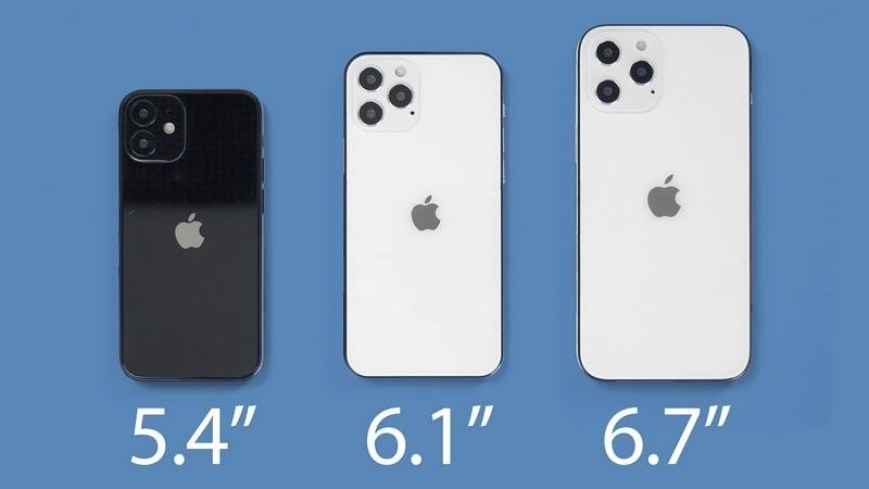 danh mục iphone 12 kích thước