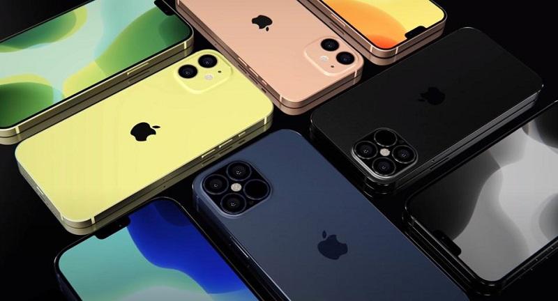 danh mục iphone 12 máy