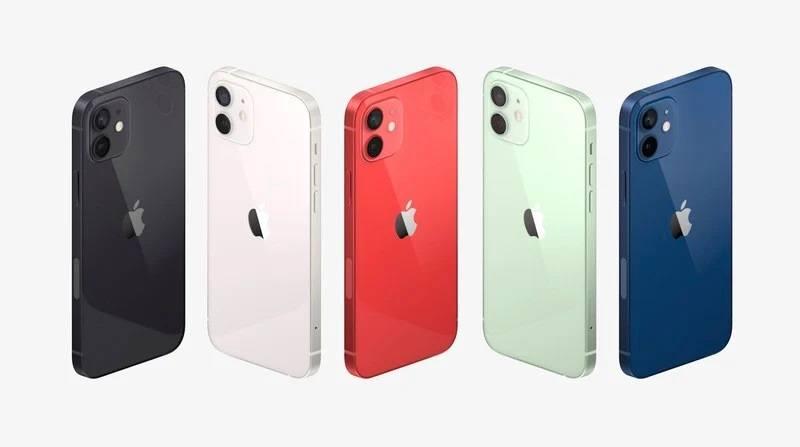iphone 12 ra mắt màu
