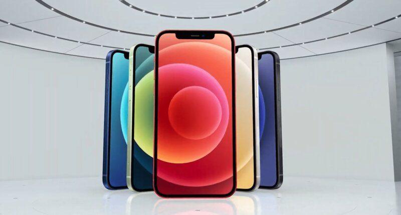 iphone 12 ra mắt máy