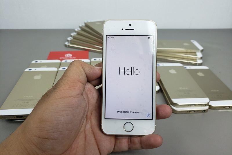 đánh giá iphone 5s chưa active màn hình