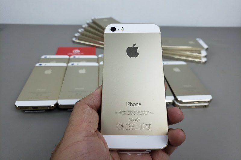 đánh giá iphone 5s chưa active thiết kế