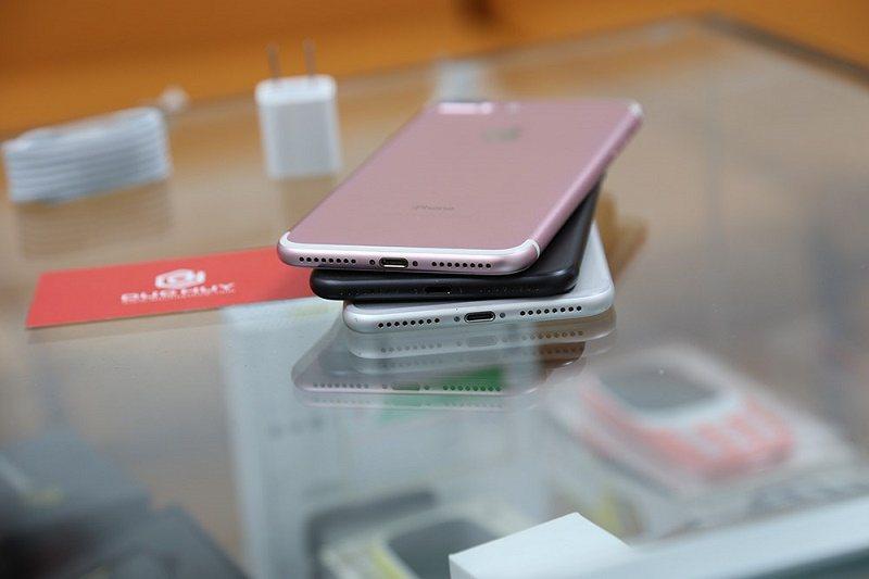iphone 7 plus 128gb trôi bảo hành thiết kế