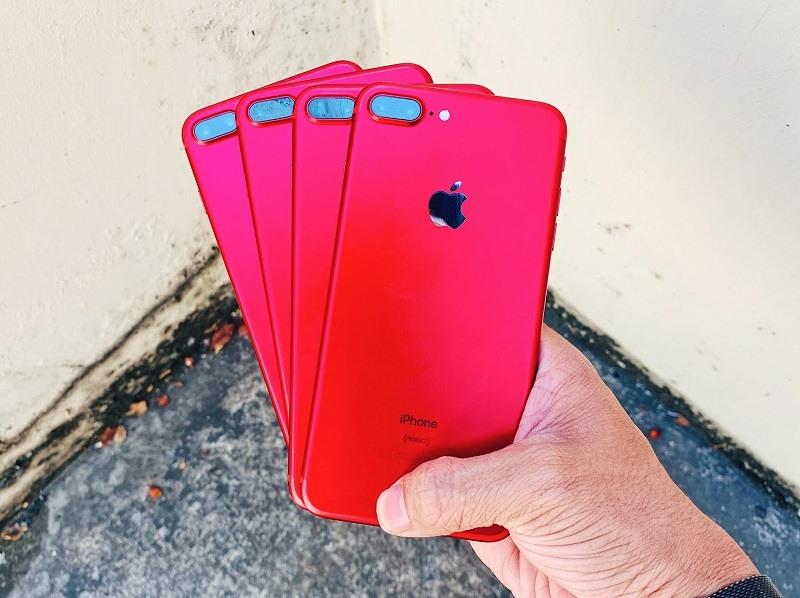 iphone 7 plus cũ màu đỏ