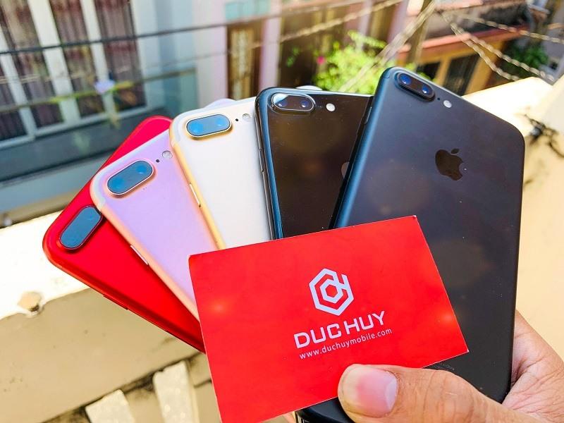 hình ảnh cận cảnh iphone 7 plus cũ tại Đức Huy Mobile