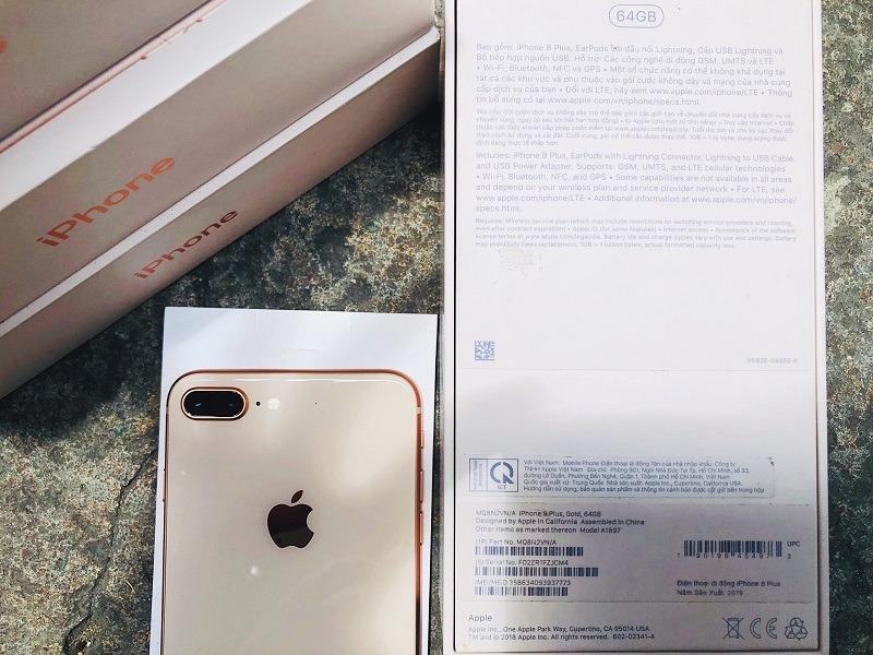 iPhone 8 Plus 64GB like new 99.9% bản VN/A có số lượng nhiều tại Đức Huy Mobile