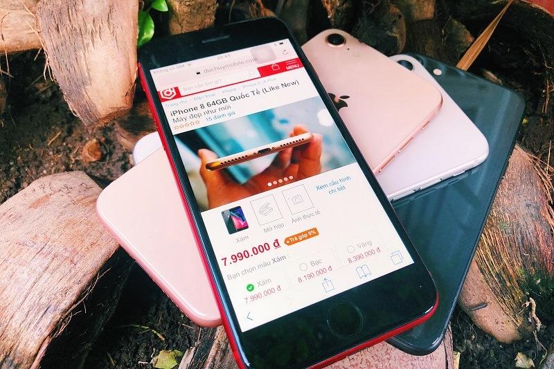 iphone 8 cũ đánh giá cấu hình