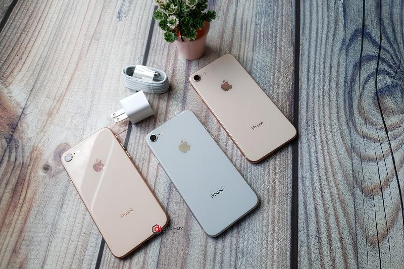 iphone 8 cũ đánh giá thiết kế