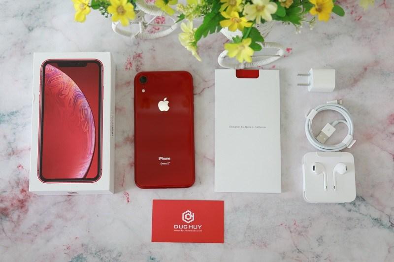 đánh giá iphone xr máy và phụ kiện