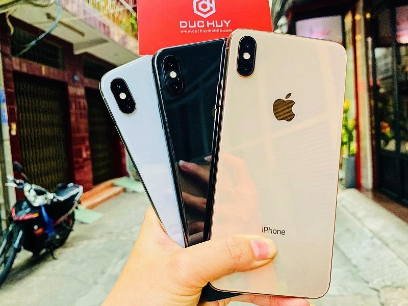 đánh giá iphone xs max 512gb cũ thiết kế