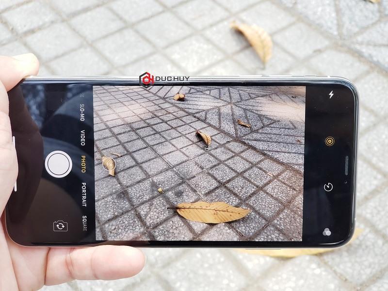 đánh giá iphone xs max lock camera
