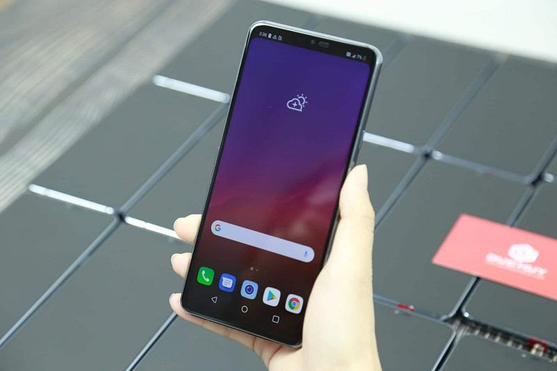 lg g7 thinq like new màn hình