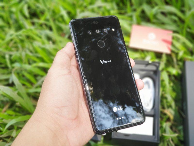 đánh giá lg v50 thinq thiết kế