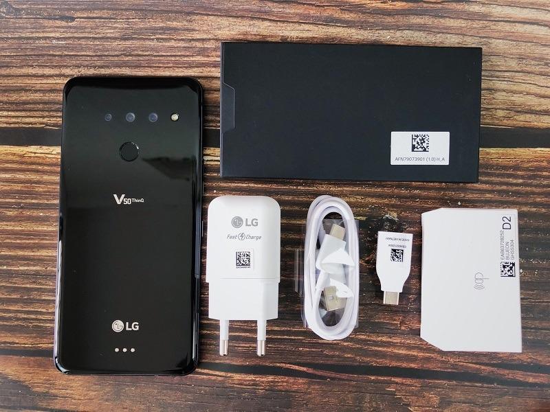 Mở hộp LG V50 ThinQ 5G tại Đức Huy Mobile - 263404