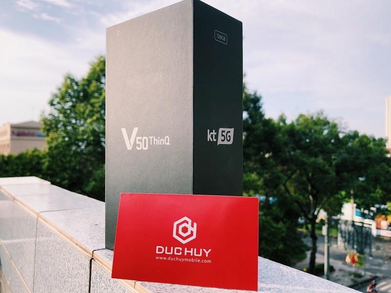 Mở hộp LG V50 ThinQ 5G tại Đức Huy Mobile - 263403