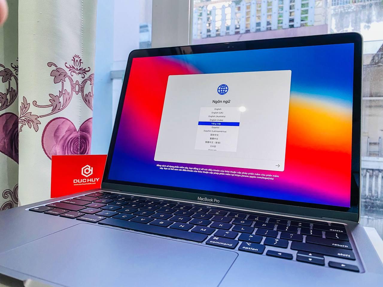 màn hình macbook pro m1 2020 512gb